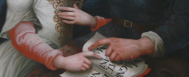 Anna leert Maria bidden 1