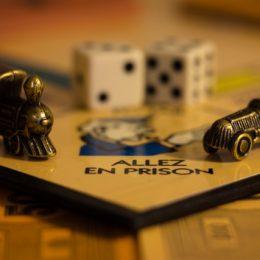 Monopoly, alles en prison, gedetineerden