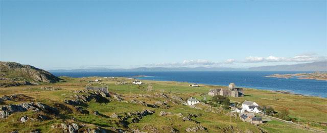 Pelgrims op het eiland Iona 1