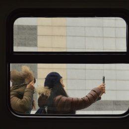 Mensen onderweg (3): Foto's nemen