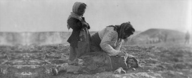Een roepende in de Armeense woestijn 1