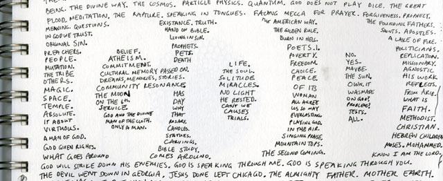 Woorden, woorden en God 1