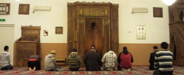 Moskeeën openen hun deuren voor vluchtelingen 1