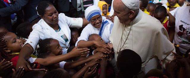 Paus Franciscus en de klimaattop in Parijs 1