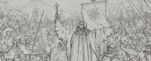 Monniken, ridders en de heilige Bernardus 1