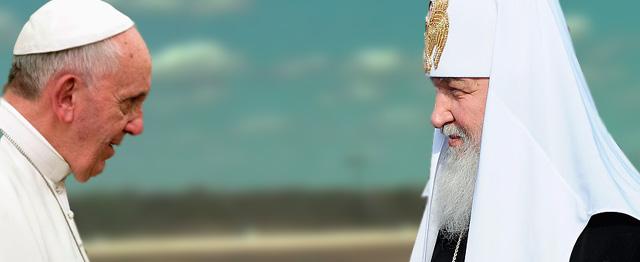 Paus ontmoet patriarch: een doorbraak? 1