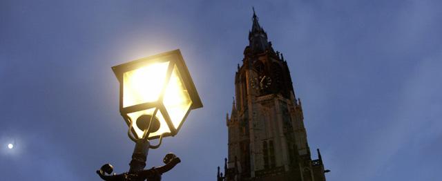 De kerk is een lantaarn, geen bouwlamp 1