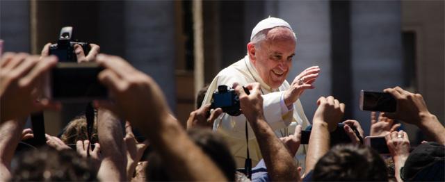 """Paus in Zweden: """"Katholieken en lutheranen moeten samen optrekken"""" 1"""