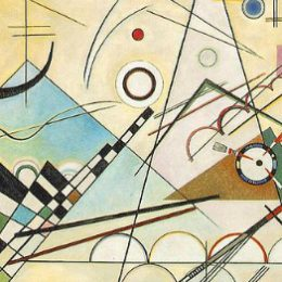 Vassily Kandinsky, 1923 - Composition 8, huile sur toile