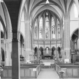 Antoniuskerk in Nijmegen, interieur