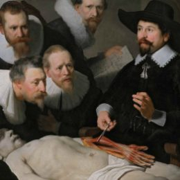 Rembrandt, The anatomy lesson of Dr Nicolaes Tulp