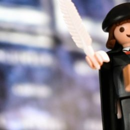 Maarten Luther in Playmobil