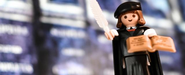 Maarten Luther in Playmobil