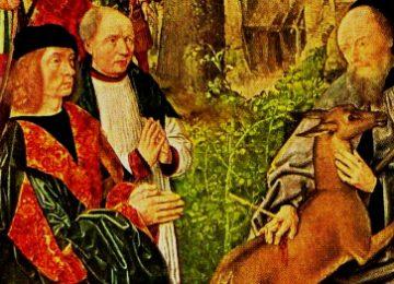Afbeelding Sint Gilles met pijl in hand