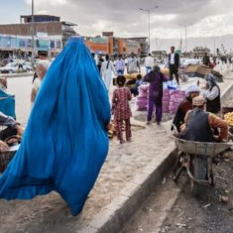 Foto uit expositie Streets of the world