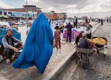 Foto uit expositie Streets of the world