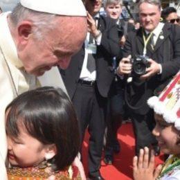 In Myanmar ontving paus Franciscus de genade van de schaamte 1