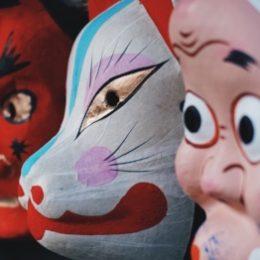Poppen, maskers carnaval