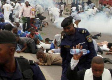 Protesten in Congo