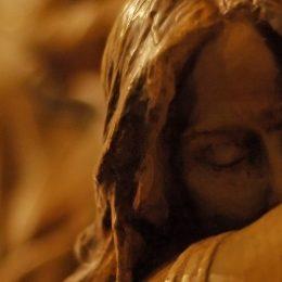 Kruisweg, Maria, bedroefde moeder