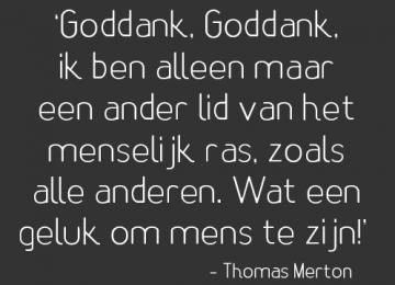 Thomas Merton: een authentiek en relevant contemplatief leven