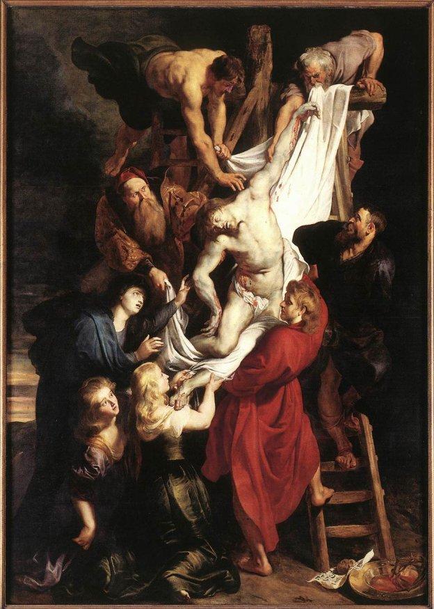 Statie Paasroute, Rubens, Kruisafname in de Kathedraal van Antwerpen