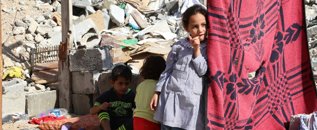 In Gaza vangen 'geweldloze lichamen' expres Israëlische kogels op