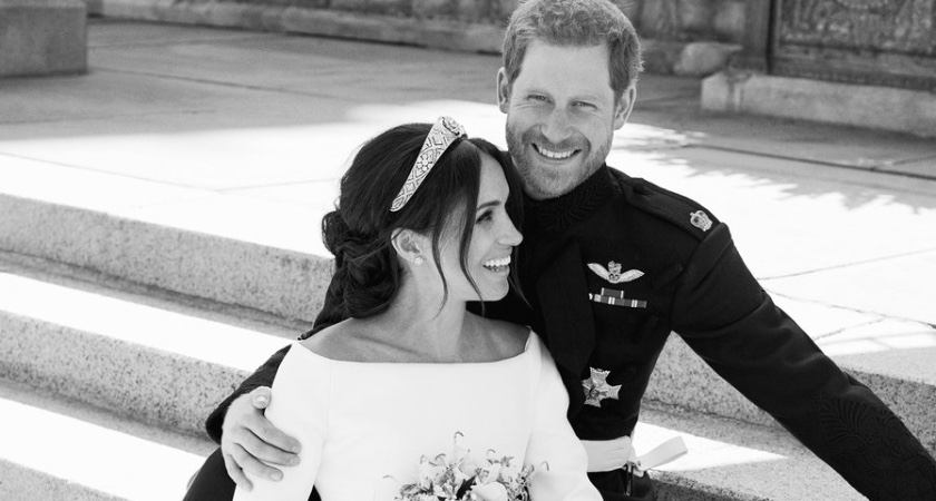 Eros, Meghan Markle en prins Harry