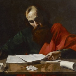 Paulus, waarschijnlijk door Valentin de Boulogne