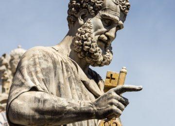 Petrus, het drijfzand (uh… de rots) waarop ik mijn kerk zal bouwen