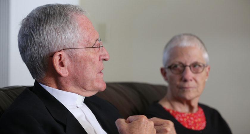 Marie Dennis en Kevin Dowling