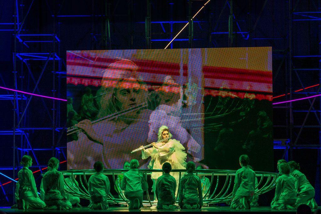 Aus Licht, de epische opera's van 'muziekpriester' Stockhausen 1
