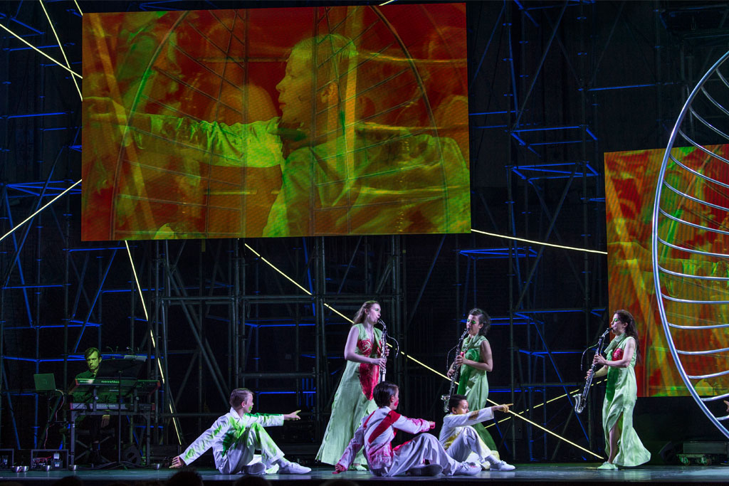 Aus Licht, de epische opera's van 'muziekpriester' Stockhausen