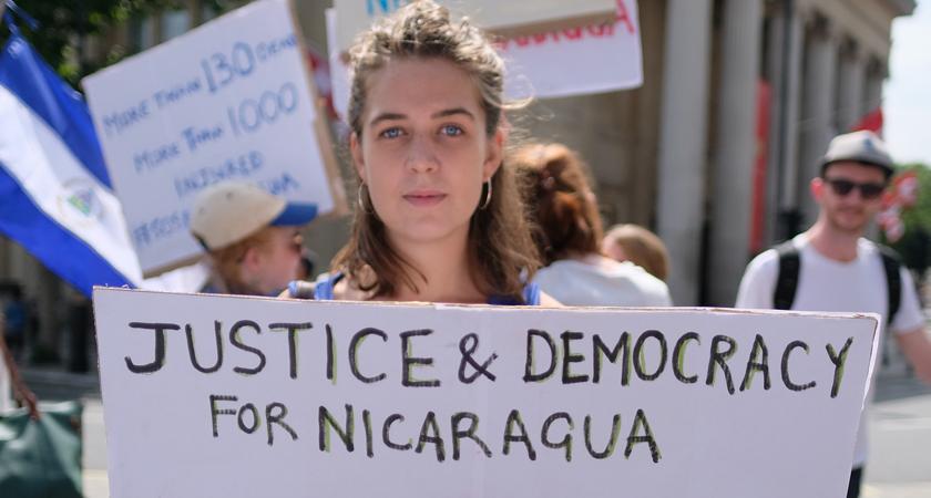 In Nicaragua leven we onder terreur en onderdrukking
