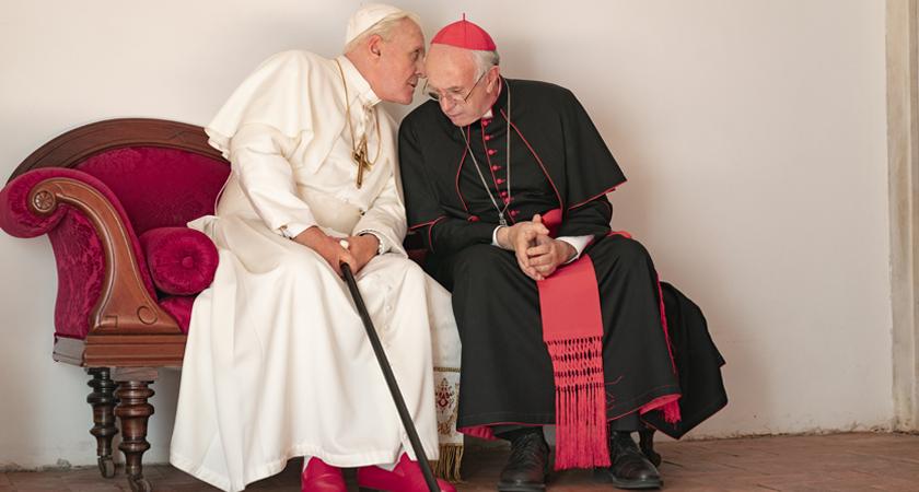 De kwetsbare menselijkheid van twee pausen