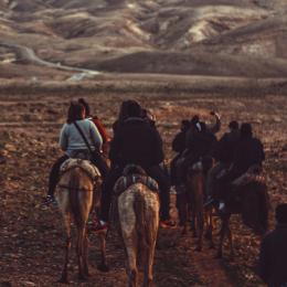 Als vrijwilliger kwetsbare Palestijnse gemeenschappen beschermen