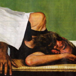 Egbert Modderman schildert onze kwetsbaarheid