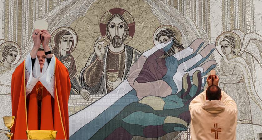 We hebben de eucharistie eigenlijk niet gemist