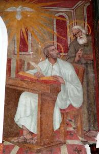 Muurschildering van Markus