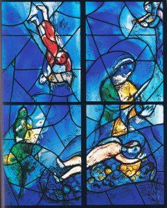 Hemelse vensters van Marc Chagall