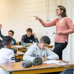 Brusselse jezuïetenschool in het hart van de moslimgemeenschap