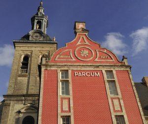 Het vroegere gastenhuis, nu museum Parcum (klik om te vergroten)